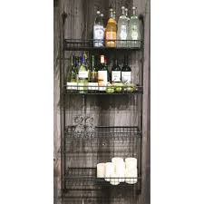 4 tier wall shelf