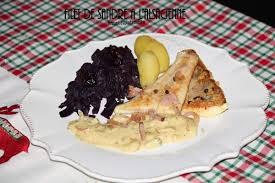 cuisiner le sandre filet de sandre à l alsacienne les petits plats de béa