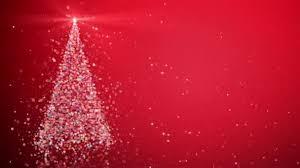 falling snowflake christmas lights merry christmas greeting video card christmas tree shining light