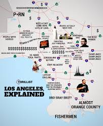 Simi Valley Map Judgmental Map Of La Thrillist