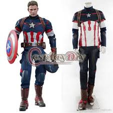 age of ultron avengers captain america costume steve rogers