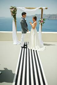 wedding altars our favourite wedding arches tie the knot in santorini weddings