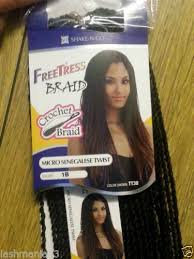 micro crochet hair freetress braid micro senegalese twist crochet latch hook colour