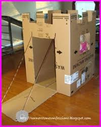 25 unique cardboard box castle ideas on pinterest cardboard