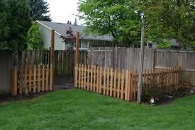 download backyard fence garden design