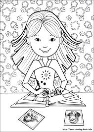 unique girls coloring books 52 drawings girls