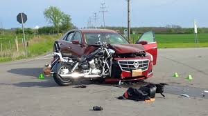 two dead after motorcycle and car collide on highway 6 in jarvis
