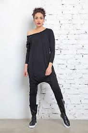 cotton jumpsuit harem jumpsuit black jumpsuit cotton jumpsuit shoulder