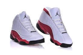 kid jordans kids air 13 retro basketball shoes white black
