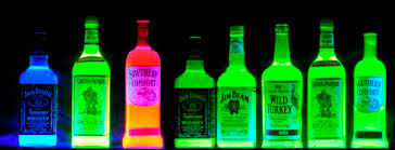 liquids that glow under black light corona glowing bottle blacklight reactive uv neon great with a