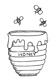 letter b is for bee coloring page printable pages to view version
