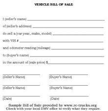 Auto Dealer Bill Of Sale Template by The 25 Best Bill Of Sale Car Ideas On