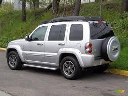 jeep liberty 2003 4x4 bright silver metallic 2003 jeep liberty renegade 4x4 exterior