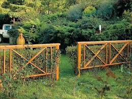 Garden Barrier Ideas Backyard Wood Fence Ideas Ideas For Garden Fences Backyard Fence