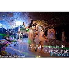 Do You Want To Build A Snowman Meme - do you wanna build a snowman frozen by chelseahadi chelsea hadi