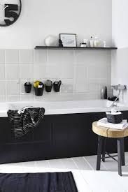cuisine noir mat et bois cuisine noir et blanc collection et cuisine best ideas about noir et