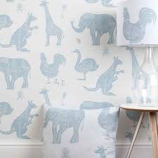 white blue machine animal wallpaper for children how it works
