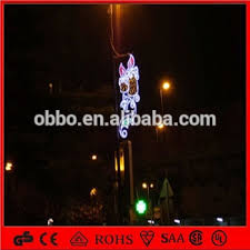 Led Christmas Decoration Lights Products by 110v 240v Street Lighting Festival Decoration 2d Candle Outdoor