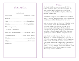 Images Of Funeral Programs 4 Funeral Program Sample Teknoswitch