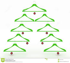 clothes hanger christmas tree pattern christmas accessories
