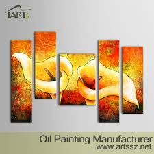 original handmade flower oil painting iarts professional wall