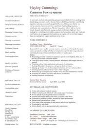 customer service resume template free customer service resume skills sle resume cover letter for