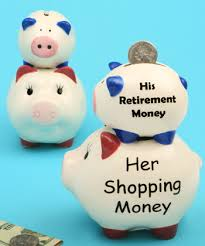 his and hers piggy bank college fund piggy bank