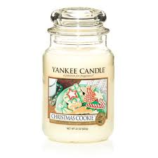 candle cookie large jar