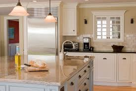 furniture cool white kitchen with square white kitchen island