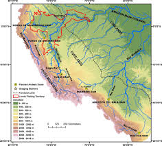 Amazon Basin Map How Six Proposed Dams On Amazon River Could Threaten Regional Food