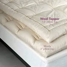 certified organic wool mattress topper lifekind