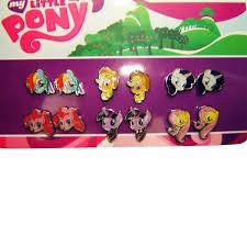 my pony earrings my pony 6 pair stud earrings set
