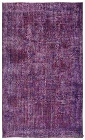 Vintage Overdyed Turkish Rugs K0023557 Purple Over Dyed Turkish Vintage Rug Kilim Rugs