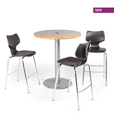 36 round cafe table round cafe table circular base smith system