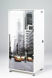 bureau secr騁aire informatique bureau secrétaire informatique design blanc imprimé manhattan elissa