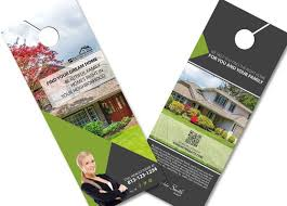 door hanger flyer template 24 best real estate door hangers images on real