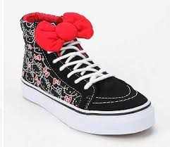 hello bow shoesday on sale hello vans with big bow mousebreath