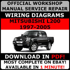 mitsubishi l 200 car service u0026 repair manuals ebay