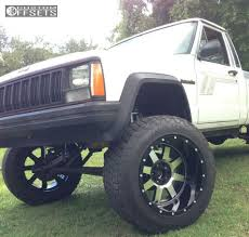 comanche jeep 2017 wheel offset 1989 jeep comanche super aggressive 3 5 suspension