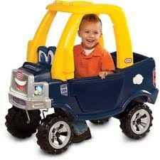 little tikes xcl620744m cozy push pickup ride on kids toddler