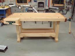 Build Wood Workbench Plans by Woodworking Workbench Plan Ideas Best House Design