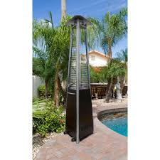 Pyramid Patio Heater by Glass Tower Commercial Patio Heater In Antique Bronze