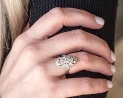art deco elephant ring holder images Antique dinner ring etsy jpg