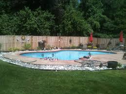 Landscaping Around House by Download Landscaping Around A Pool Garden Design