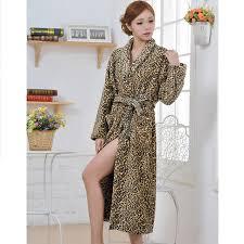 femme de chambre chaude vente chaude femmes de léopard pyjamas manches pleine microfibre de