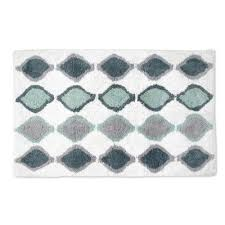 Geometric Bath Rug Saffron Fabs 100 Soft Cotton Geometric Bath Rug U0026 Reviews