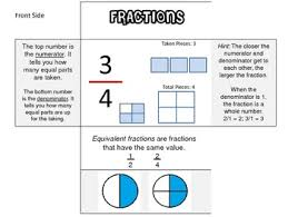 fractions math fractions math foldable by that math teachers pay teachers