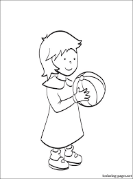 rosie caillou coloring coloring pages