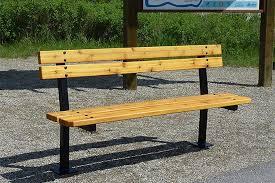 series e benches custom park u0026 leisure