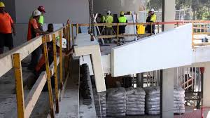 precast concrete panel installation at entry youtube